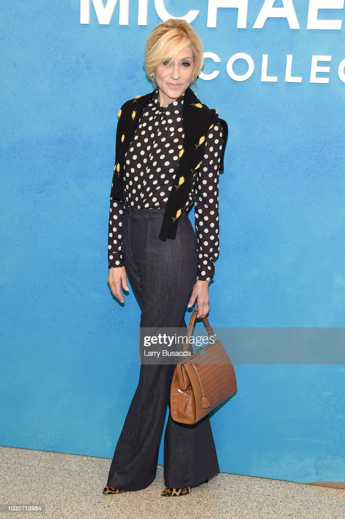 Judith Light attends the Michael Kors Collection Spring 2019 Runway Show at Pier 17 on September 12, 2018 in New York City.