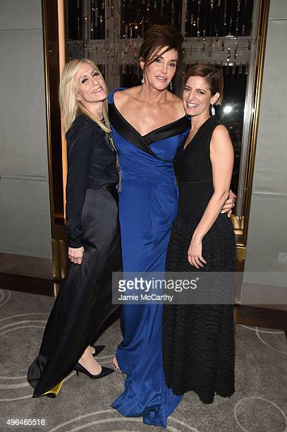 Judith Light Caitlyn Jenner and Cindi Leive attend the 2015 Glamour Women of The Year Awards dinner hosted by Cindi Leive at The Rainbow Room on...