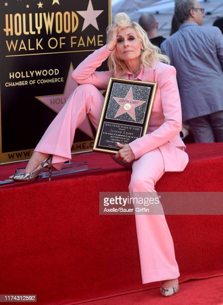 Judith Light is honored with a Star on the Hollywood Walk of Fame on September 12 2019 in Hollywood California