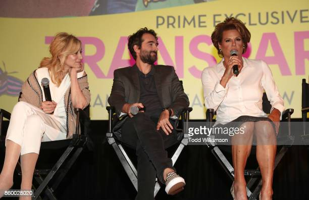 Judith Light Jay Duplass and Alexandra Billings attend an Amazon Prime Exclusive Series Transparent Season 4 SAG Screening on October 10 2017 in Los...