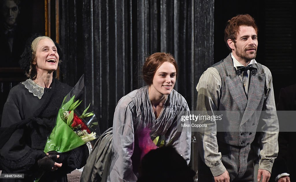 Judith Light Keira Knightley And Matt Ryan Take A Curtain