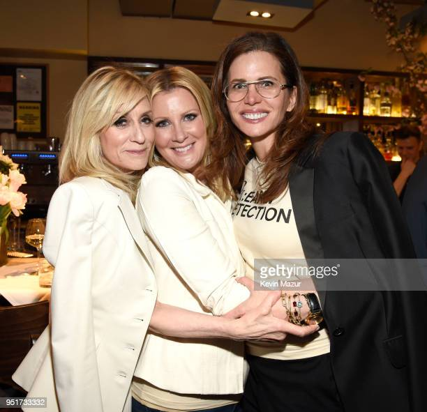 Judith Light Sandra Lee and Desiree Gruber attend the after party for the HBO Documentary Film 'RX Early Detection A Cancer Journey With Sandra Lee'...