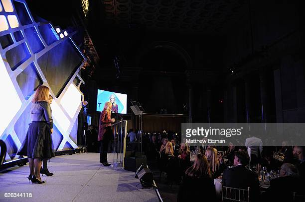 Judith Light speaks onstage at IFP's 26th Annual Gotham Independent Film Awards at Cipriani Wall Street on November 28 2016 in New York City