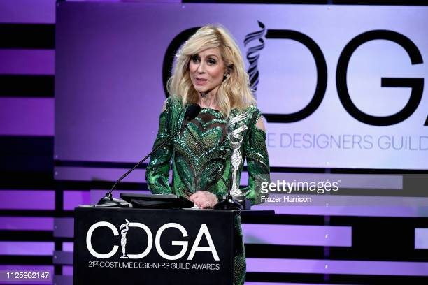 Judith Light speaks onstage during The 21st CDGA at The Beverly Hilton Hotel on February 19 2019 in Beverly Hills California
