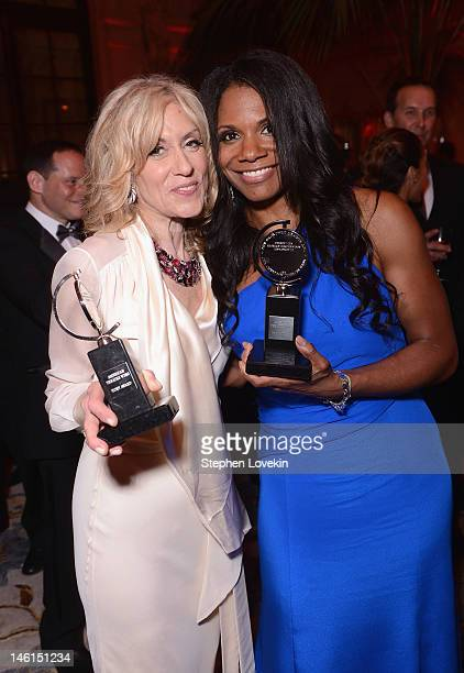 Judith Light winner for Best Featured Play Actress for 'Other Desert Cities' and Audra McDonald winner for the Best Performance by a Leading Actress...