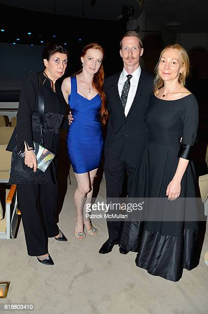 Judith M Hoffman Gillian Murphy Ethan Stiefel and Jennifer Chaitman attend the Works Process Rotunda Projects Gala at the Guggenheim at Guggenheim...