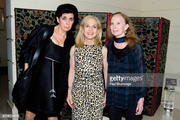 Judith M Hoffman Vicki Reiss and Allegra Kent attend Youth America Grand Prix Jewels 50th Anniversary Celebration at Home of Susan Gutfreund on July...