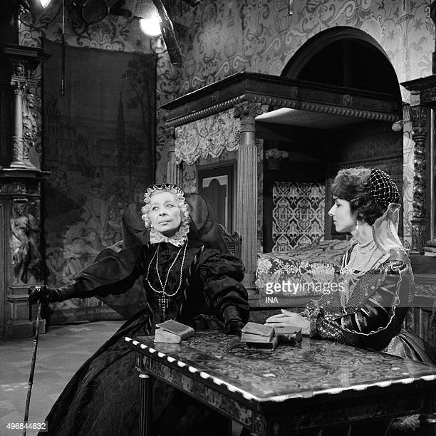 Judith Magre and Eleonore Hirt on the shooting of the drama The assassination of the duke of Way realized by Guy Lessertisseur