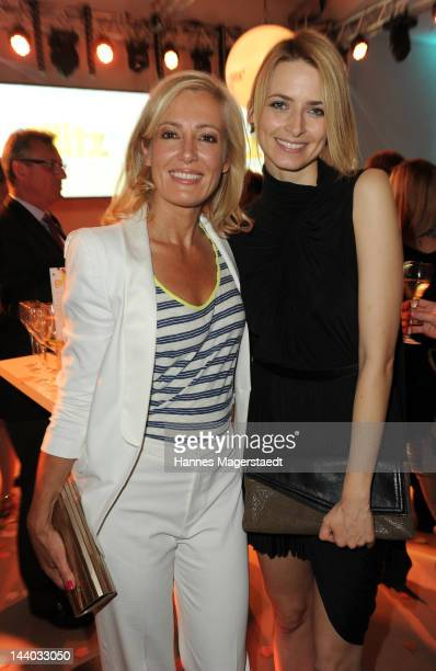Judith Milberg and Eva Padberg attends the launch party for glitz* the new women and lifestyle channel from Turner Broadcasting System Deutschland at...