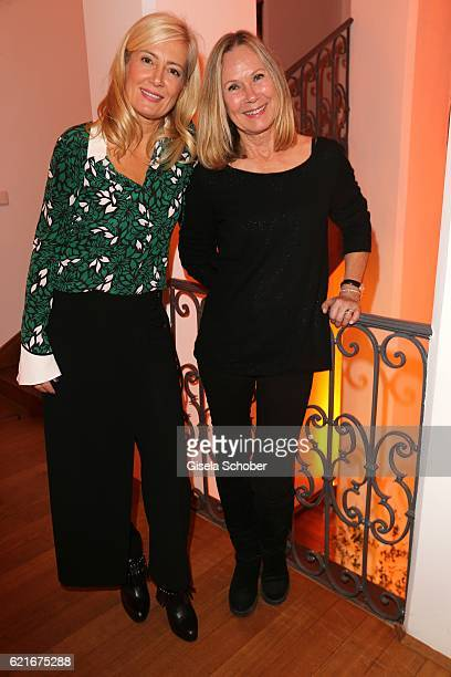 Judith Milberg and Sybille Beckenbauer during the birthday party for the 10th anniversary of ICON at Nymphenburg Palais No 6 on November 7 2016 in...