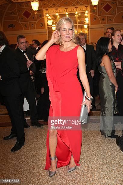 Judith Milberg attends the Bavarian Film Award 2014 at Prinzregententheater on January 17 2014 in Munich Germany