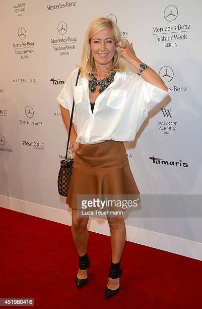 Judith Milberg attends the Laurel show during the MercedesBenz Fashion Week Spring/Summer 2015 at Erika Hess Eisstadion on July 10 2014 in Berlin...