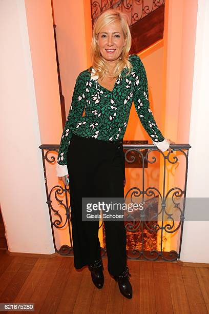 Judith Milberg during the birthday party for the 10th anniversary of ICON at Nymphenburg Palais No 6 on November 7 2016 in Munich Germany