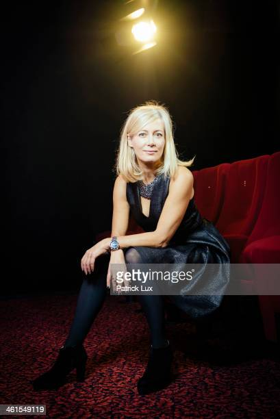 Judith Milberg poses during a photo session on December 4 2013 in Kiel Germany