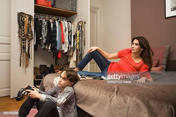 Judith Milgrom Creator Of The Brand Maje At Home In Paris Paris19 octobre 2010 sous l'impulsion de sa créatrice Judith MILGROM présidente et...