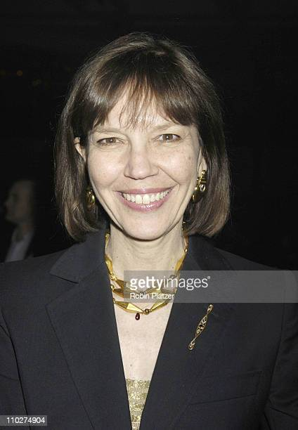Judith Miller during The 56th Annual National Book Awards at The Marriott Marquis Hotel in New York New York United States