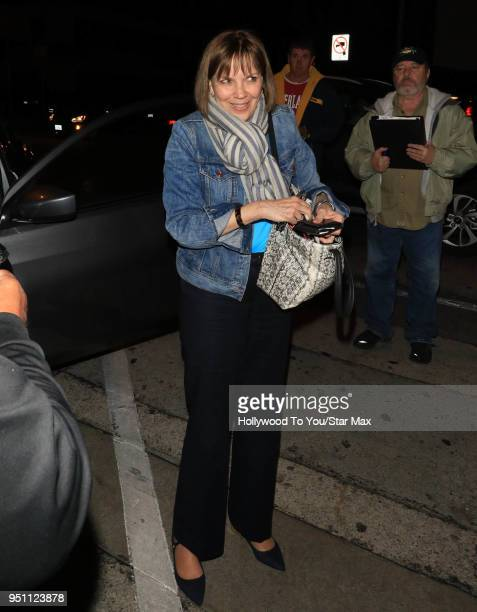 Judith Miller is seen on April 24 2018 in Los Angeles California