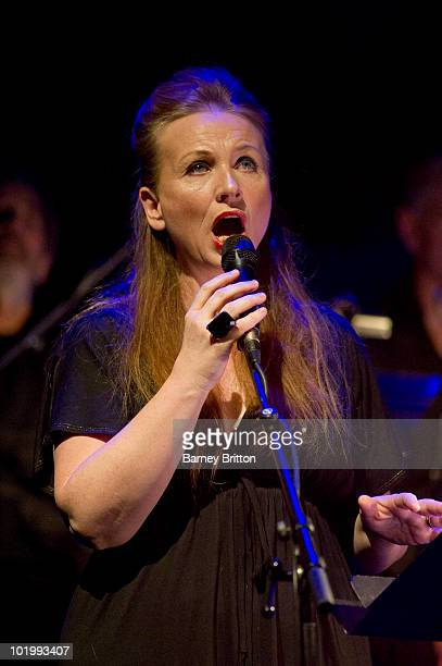 Judith Owen performs on stage in Cabaret Of Souls as part of the Meltdown Festival at the Royal Festival Hall on June 11 2010 in London England