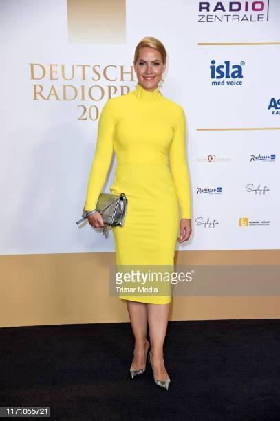 Judith Rakers attends the Deutscher Radiopreis at Elbphilharmonie on September 25 2019 in Hamburg Germany