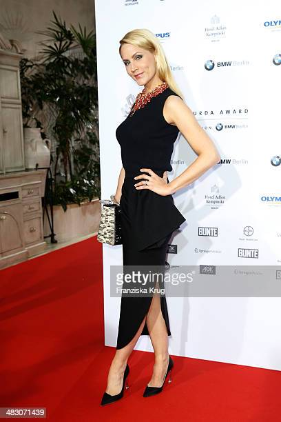 Judith Rakers attends the Felix Burda Award 2014 at Hotel Adlon on April 06 2014 in Berlin Germany
