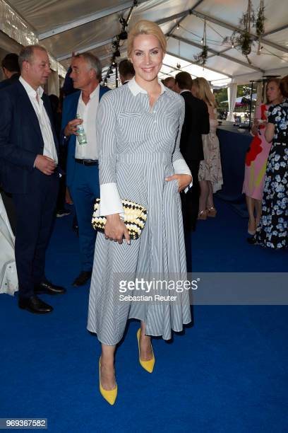 Judith Rakers attends the summer party 2018 of the German Producers Alliance on June 7 2018 in Berlin Germany