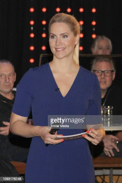 Judith Rakers during '3nach9' Talk Show on February 1 2019 in Bremen Germany