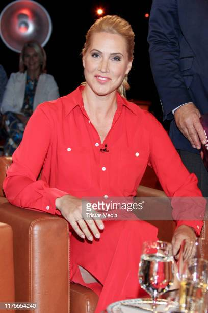 Judith Rakers during the NDR talk show on September 13 2019 in Hamburg Germany