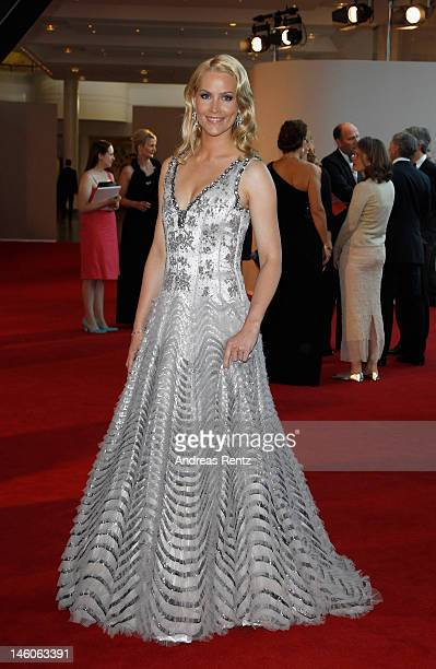 Judith RakersPfaff attends the Rosenball at Hotel Intercontinental on June 9 2012 in Berlin Germany
