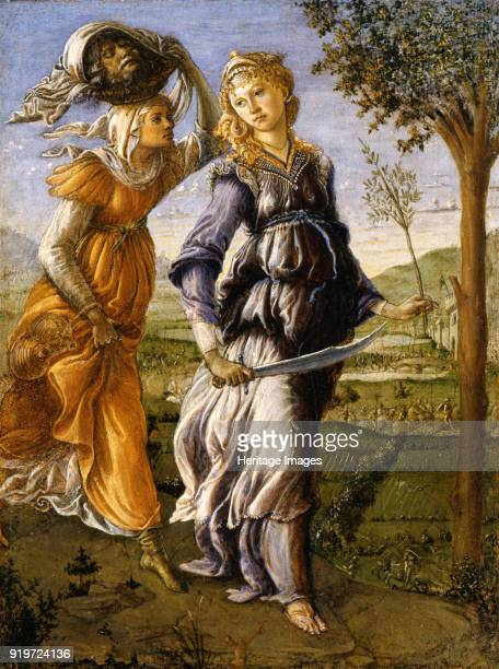 Judith Returns from the Enemy Camp at Bethulia 14701472 Found in the Collection of Galleria degli Uffizi Florence