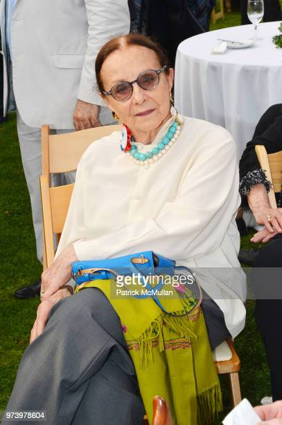 Judith Schlosser attends the Franklin D Roosevelt Four Freedoms Park's gala honoring Founder Ambassador William J Vanden Heuvel at Franklin D...