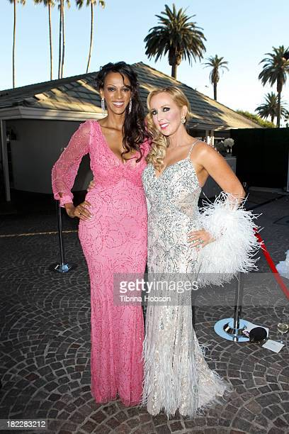 Judith Shekoni and Deborah Alessi attend the 4th annual Face Forward LA Gala at Fairmont Miramar Hotel on September 28 2013 in Santa Monica California