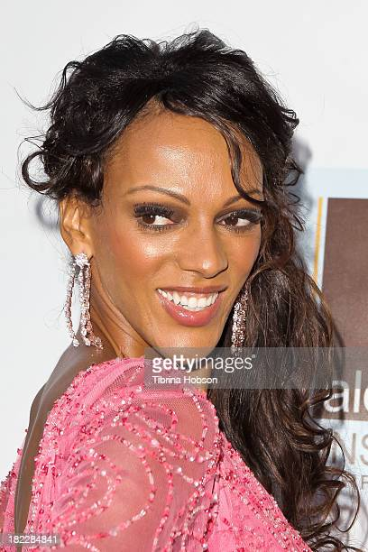 Judith Shekoni attends the 4th annual Face Forward LA Gala at Fairmont Miramar Hotel on September 28, 2013 in Santa Monica, California.