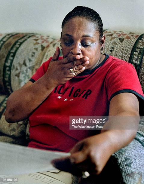 Judith Totten gasps as she reads a report detailing the neglect suffered by her grandfather Dorsey Williamson at Ashwood Home for Adults in Danville,...