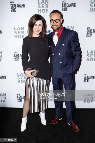 Judith Williams and Alexander Klaus Stecher attend the GQ Care Award on May 08 2019 in Duesseldorf Germany