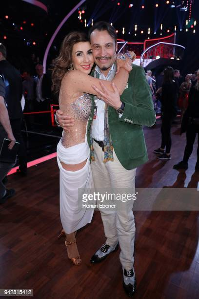 Judith Williams and AlexanderKlaus Stecher during the 3rd show of the 11th season of the television competition 'Let's Dance' on April 6 2018 in...