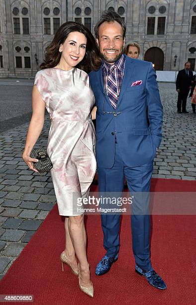 Judith Williams and AlexanderKlaus Stecher during the 'Jose Carreras Foundation Celebrates Its 20th Anniversary' at Kaisersaal on September 16 2015...
