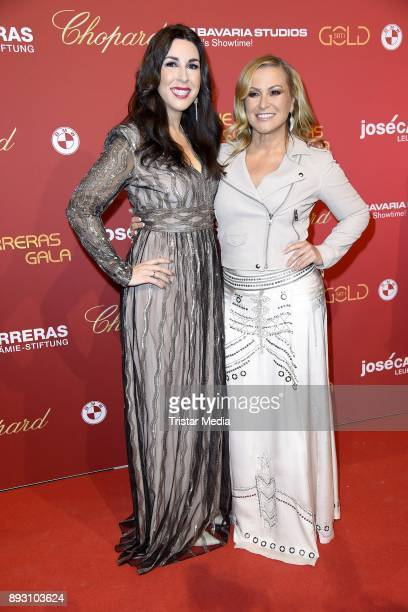 Judith Williams and Anastacia Lyn Newkirk attend the 23th Annual Jose Carreras Gala on December 14 2017 in Munich Germany