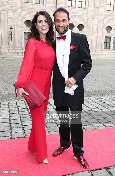 Judith Williams and her husband Alexander Klaus Stecher during a charity dinner hosted by AMADE Deutschland and Roland Berger Foundation at...