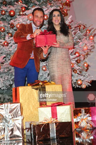 Judith Williams and her husband Alexander Klaus Stecher during the 23th annual Jose Carreras Gala at Bavaria Filmstudios on December 14 2017 in...