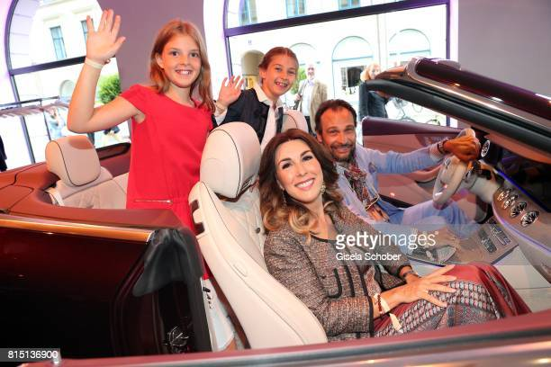 Judith Williams and her husband AlexanderKlaus Stecher and her daughter Angelina and Sophia at the MercedesBenz reception at 'Klassik am Odeonsplatz'...