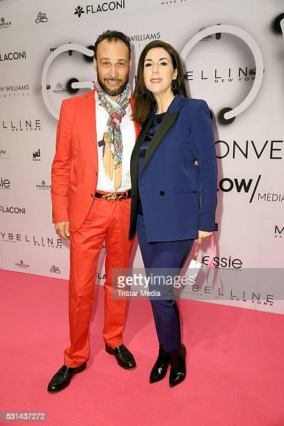 Judith Williams and her husband AlexanderKlaus Stecher attend the 'GLOW The Beauty Convention' on May 14 2016 in Stuttgart Germany