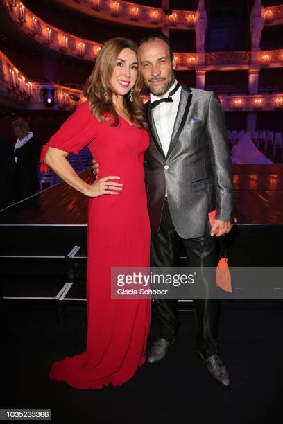 Judith Williams and her husband AlexanderKlaus Stecher during the traditional Buehnendinner 2018 at Bayerische Staatsoper on September 17 2018 in...