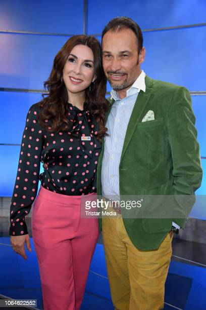 Judith Williams and her husband AlexanderKlaus Stecher during the 23rd RTL Telethon on November 23 2018 in Huerth Germany