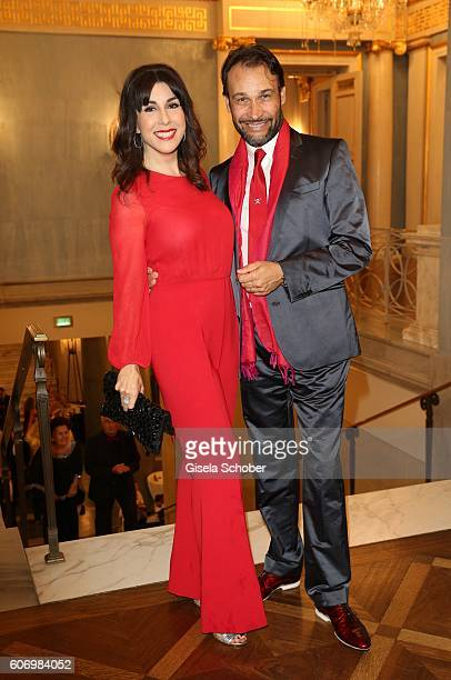 Judith Williams and her husband AlexanderKlaus Stecher during the traditional Buehnendinner 2016 at Bayerische Staatsoper on September 16 2016 in...