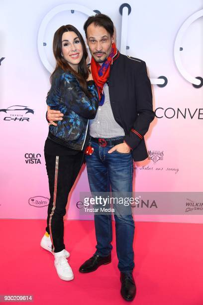 Judith Williams and her husband AlexanderKlaus Stecher during the 'GLOW The Beauty Convention' at Westfalenhalle on March 10 2018 in Dortmund Germany