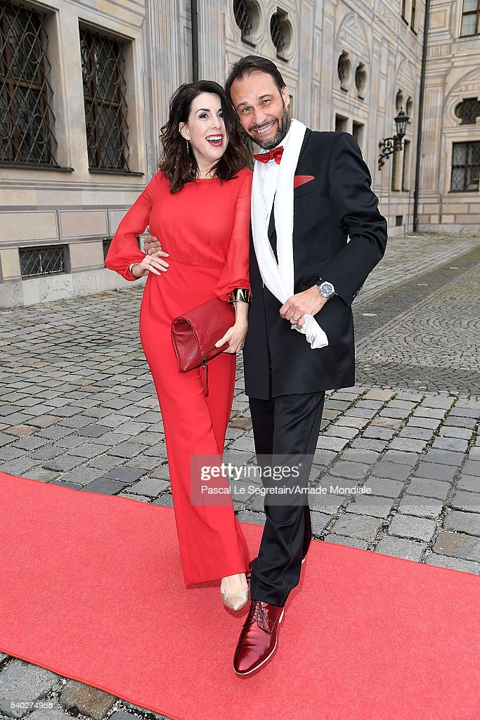 Judith Williams and husband Alexander Klaus Stecher attend the AMADE Deutschland Charity dinner on June 14, 2016 in Munich, Germany.