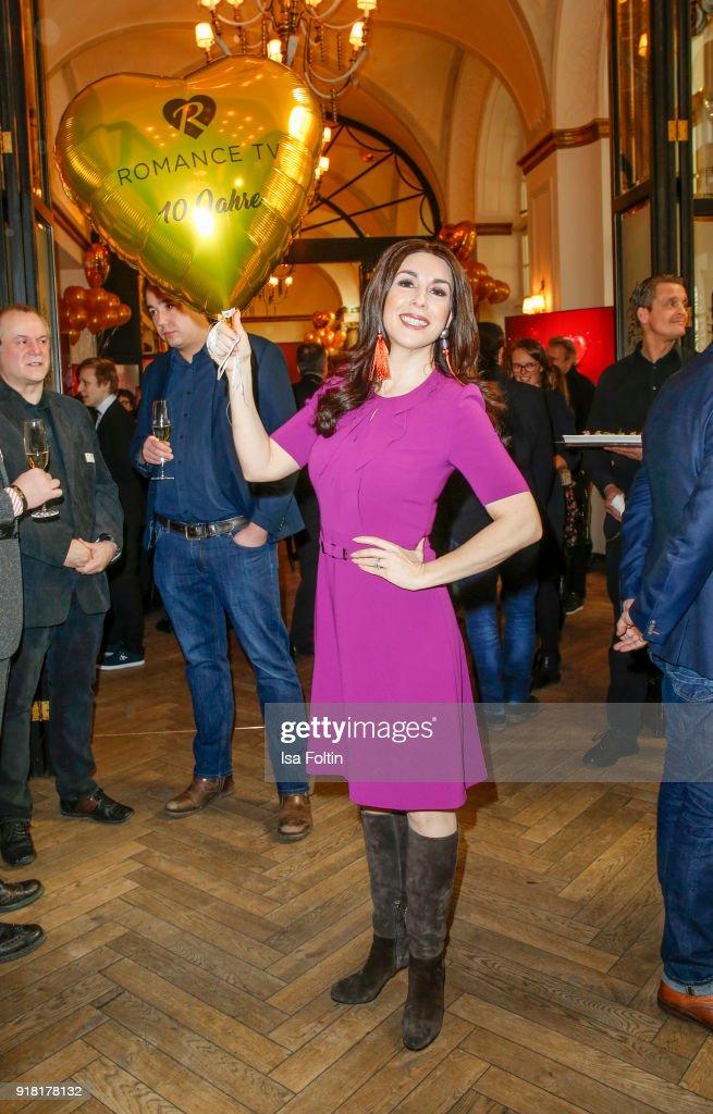 Judith Williams (Die Hoehle der Loewen) attends the Blaue Blume Awards 2018 at Grosz on February 14, 2018 in Berlin, Germany.