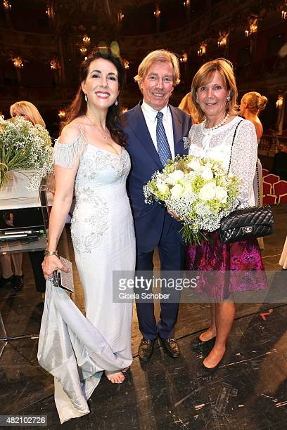 Judith Williams Prince Leopold of Bavaria and his wife Princess Ursula of Bavaria during the 'Die Goldene Deutschland' Gala on July 26 2015 at...