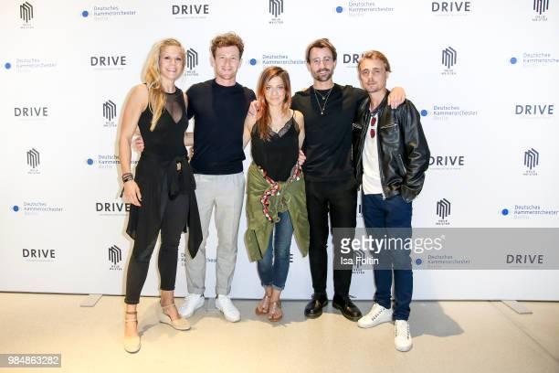 Judo athletet Julia Dorny, German actor Artjom Gilz, German actress Claudia Eisinger, blogger David Roth and German actor Constantin von Jascheroff...