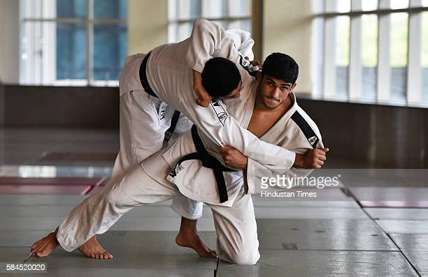 Judo player Avtar Singh at IG Stadium on July 21 2016 in New Delhi India As per the list released by the International Judo Federation Avtar has...